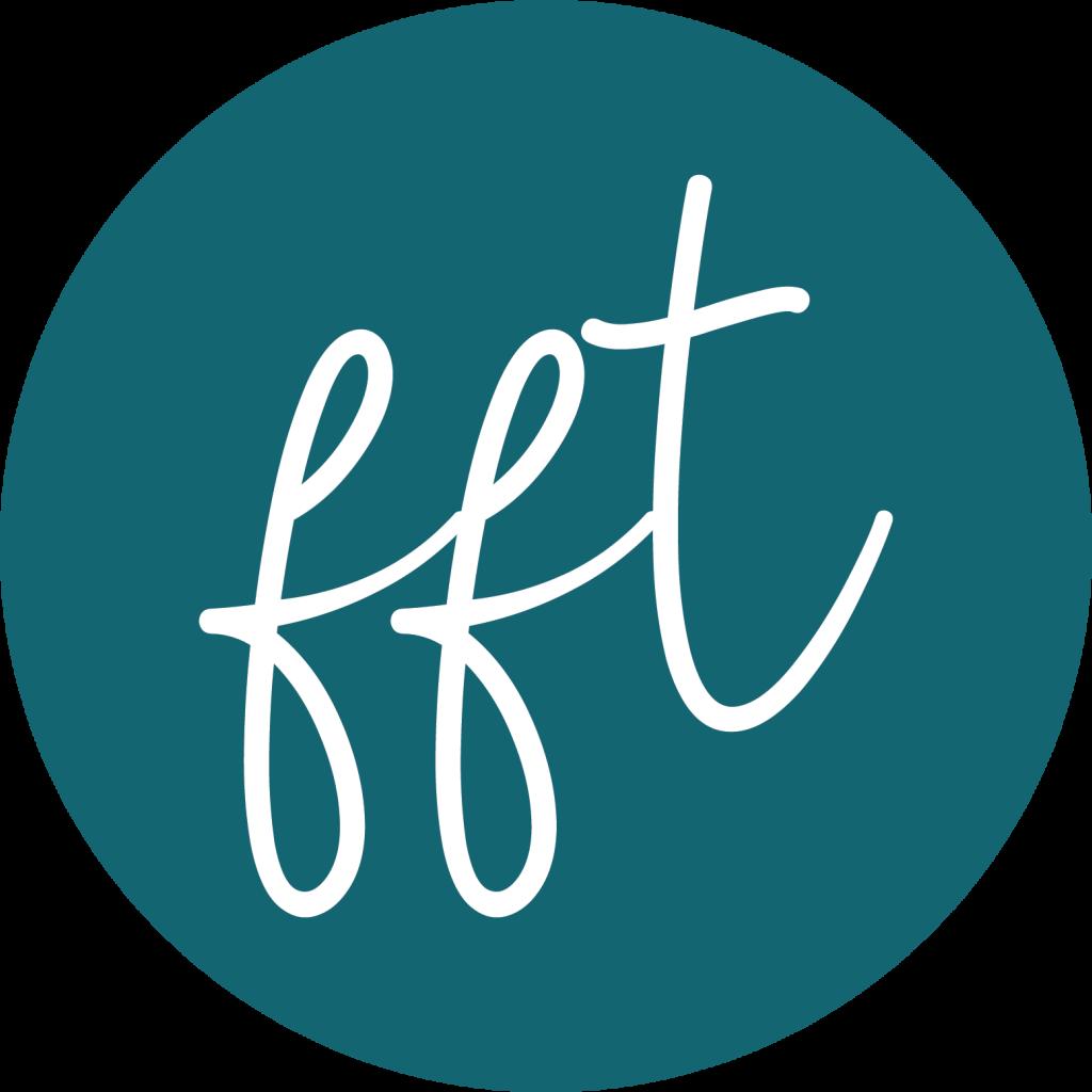 FFT logo circular usage (teal)